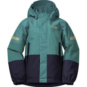 Bergans Lilletind Insulated Jacket Kids greenlake/navy/waxed yellow